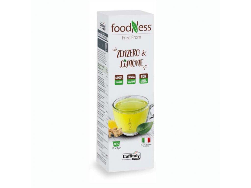ZENZERO E LIMONE FOODNESS TCHIBO CAFFITALY NEJKAFE CZ