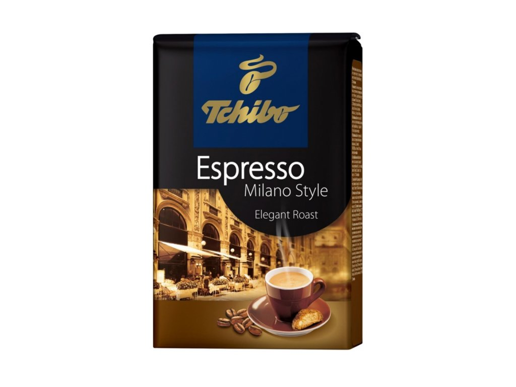 tchibo espresso milano style kava zrnkova 500 g nejkafe cz
