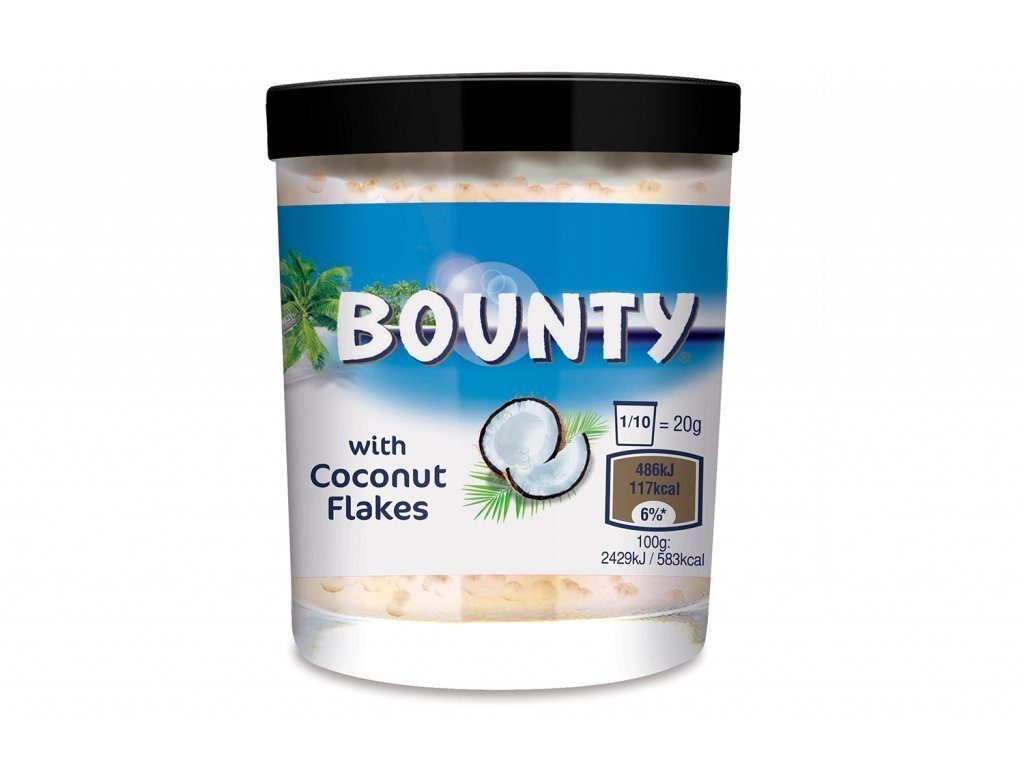 bounty pomazanka 200g krem nejkafe cz cokolada