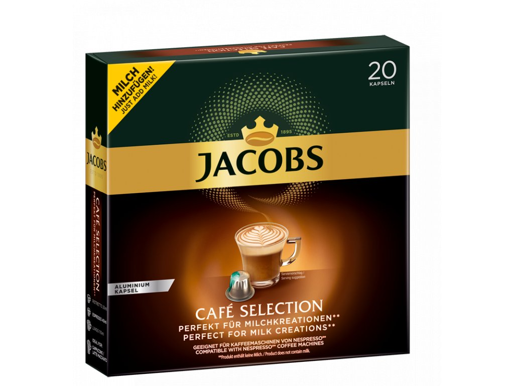 jacobs cafe selection nejkafe