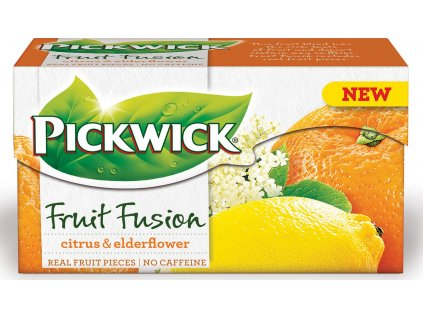 pickwick fruit fusion citrus elderflower nejkafe