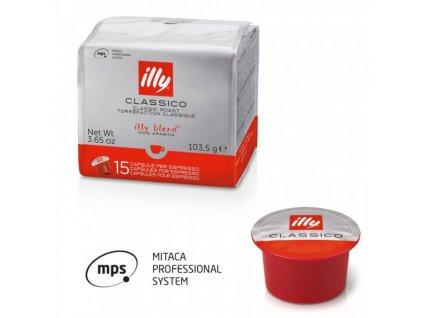 90 capsules caffe illy classic roasting medium mitaca mps