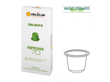 capsule espresso70 biologico