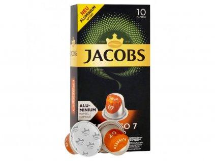 jacobs espresso classico 10 hlinikovych kapsli nejkafe cz