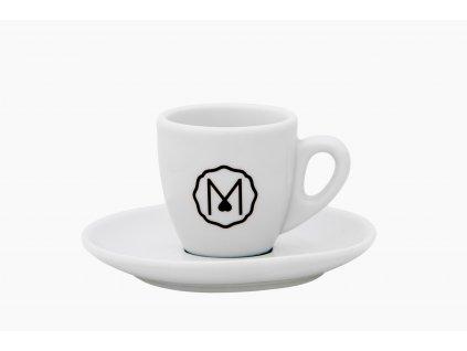 MIKAH porcelánový šálek s podšálkem pro Espresso 60 ml