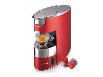 Kávovar Illy Francis X9 červený