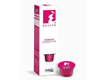 Kapsle jemné espresso Morbido 10kusů do Tchibo Cafissimo