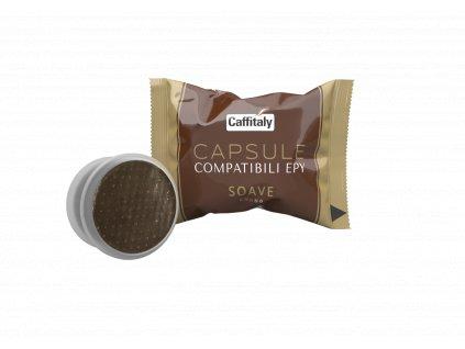 Kapsle Caffitaly Soave do Lavazza Espresso Point® 50 ks. Cena kapsle 5,80Kč