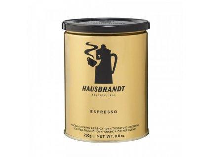 hausbbrandt espresso 250 g mleta kava nejkafe cz