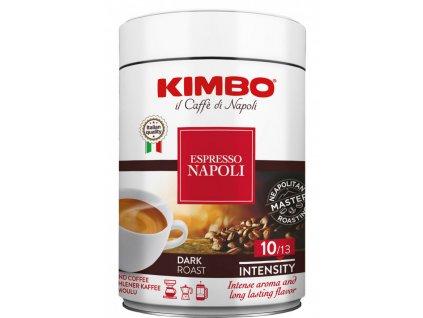 kimbo espresso napoli mletá káva zrno