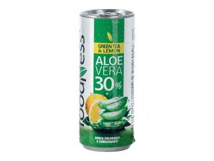 aloe vera green tea lemon