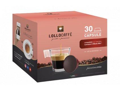 Kapsle Lollo Caffe do Lavazza A Modo Mio® Argento 30ks