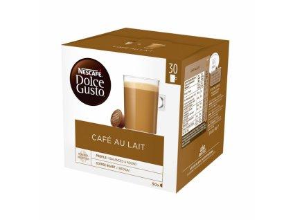 Kapsle Nescafe Dolce Gusto CAFE AU LAIT 30 Kusů