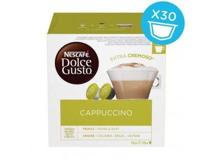 Kapsle Nescafé Dolce GUSTO Cappuccino 30 kapslí