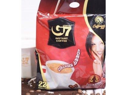 Instantní Vietnamská káva Trung Nguyen G7 SUGAR FREE & COLAGEN 22 PORCÍ 352g