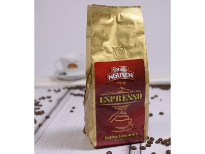 trung nguyen espresso innovator Arabica robusta nejkafe cz 500 g