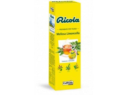 kapsle ricola tisana melissa limoncella caffitaly tchibo nejkafe cz