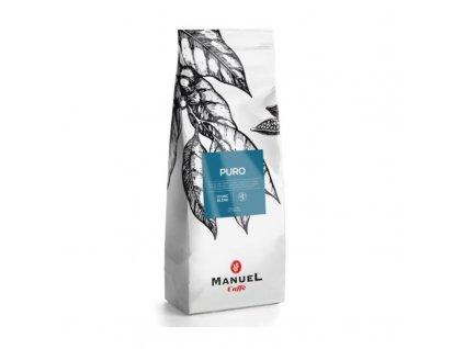 manuel caffe puro zrnkova 1 kg nejkafe cz