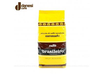 Brasileiro Coronado danesi caffe 1kg nejkafe.cz