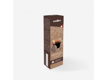 Gimoka Horká Čokoláda kapsle do Tchibo Cafissimo a Caffitaly