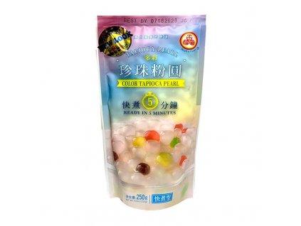 wufuyuan tapioca tapioka colored kuličky 250g nejkafe cz
