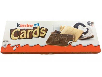 kinder cards ferrero 128g