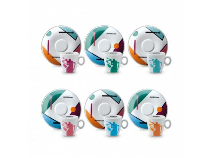 Hausbrandt re design salek podsalek set espresso 70ml nejkafe cz