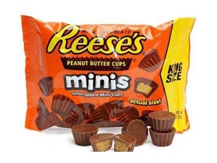 reeses mini peanut butter minis king size nejkafe cz