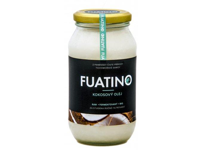 FUATINO Kokosový Olej 500ml, RAW fermentovaný, 100% panenský