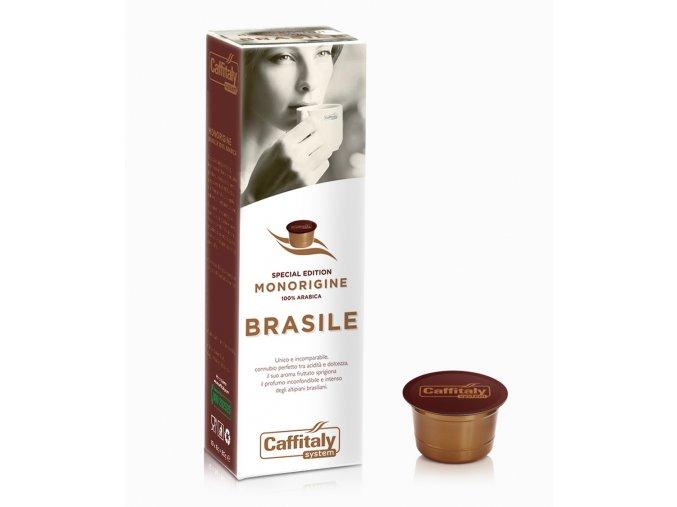 Kapsle s brazilskou kávou Caffitaly Ecaffé Brasile Monorigine Special Edition 10kusů