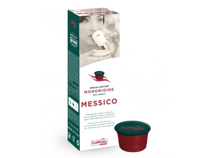 Kapsle s mexickou kávou Caffitaly Ecaffé Messico Monorigine Special Edition 10kusů
