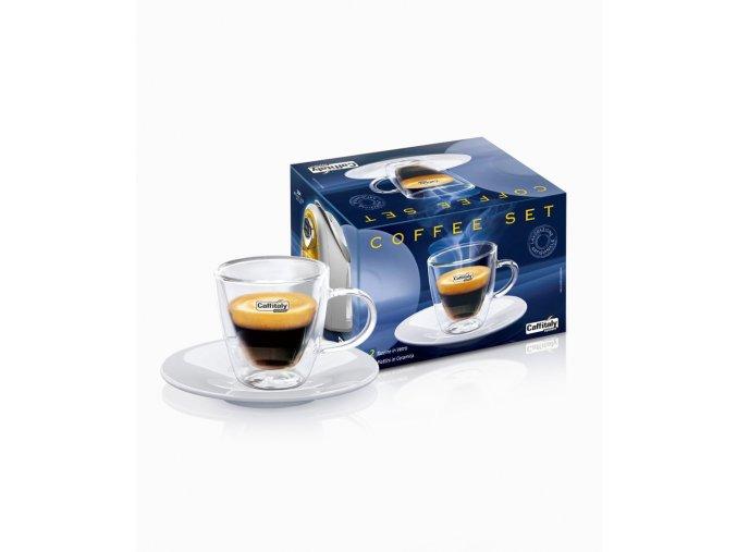 Caffitaly Šálky na horké nápoje Espresso 2ks
