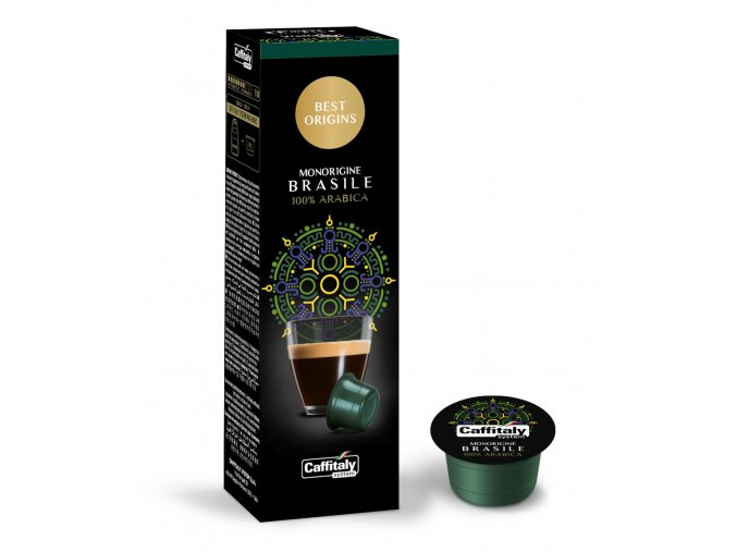 CaffitalyNEW Best Origins Monorigine Brasile capsule caffe big