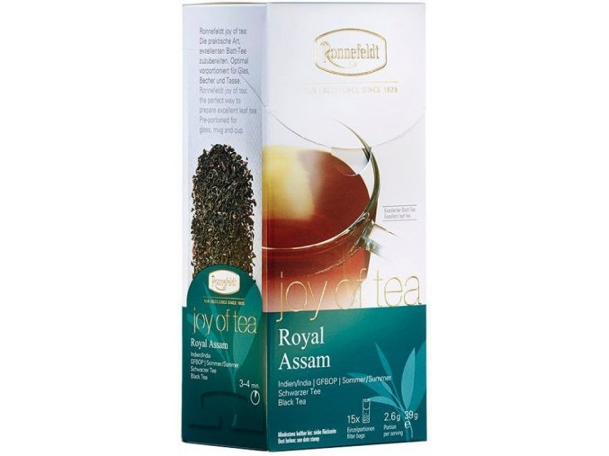Čaj Ronnefeldt Joy of Tea Royal Assam 15 sáčků