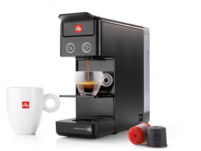 Kávovar Illy Francis Y3.2 černý
