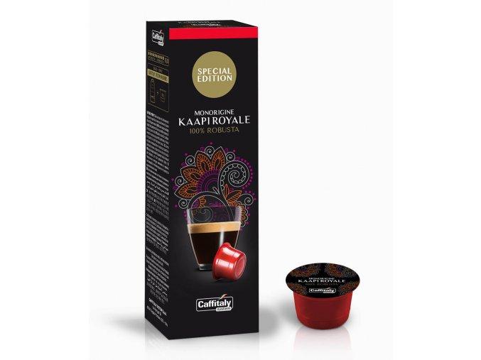 Caffitaly Special Edition Monorigine Kaapi Royale capsule caffe big