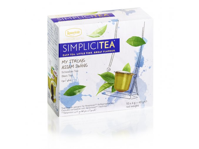 26100 Simplicitea Packshot Strong Assam