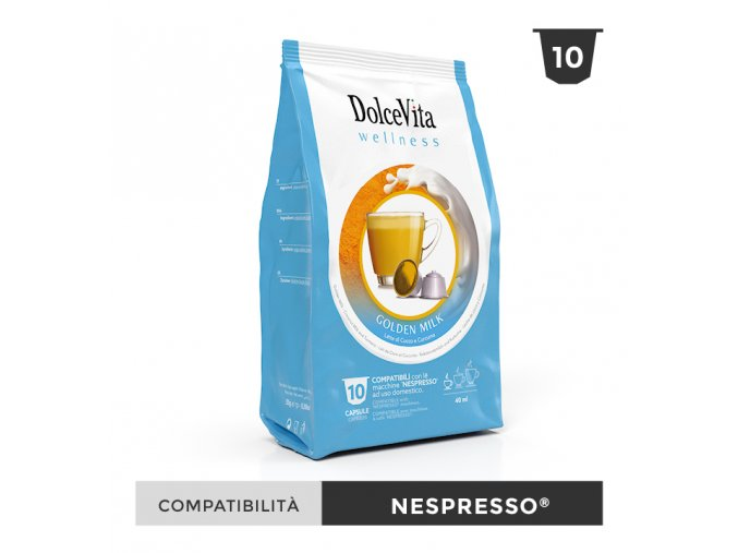 DOLCEVITA wellness goldenmilk nespresso