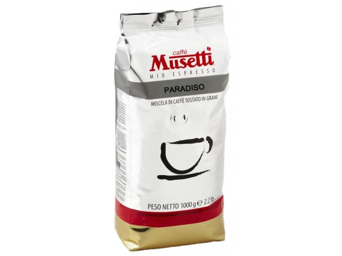 musetti paradiso zrnkova kava 1 kg 202003241346261774119115