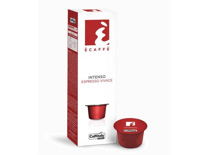 Kapsle intenzivní espresso Caffitaly Ecaffé Intenso 10kusů