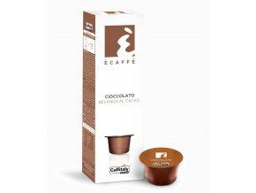Kapsle čokoláda Caffitaly Ecaffé  Bevanda al Cacao  10kusů