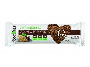 BARRETTA sesamo e Cioccolato