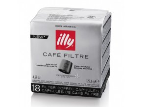 illy kapsle iper coffee dark 18 ks