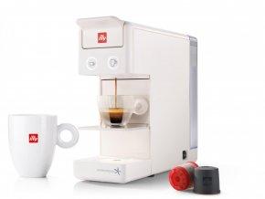 Kávovar Illy Francis Y3.2 bílý
