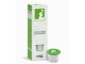 Caffe verde e Ganoderma in capsule Ecaffe Caffitaly BIG
