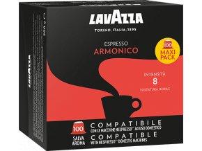 100 capsule lavazza espresso armonico compatibili nespresso