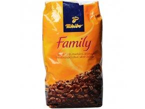 Zrnková káva Tchibo Family 1kg