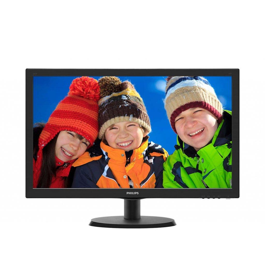 "22"" LED Philips 223V5LHSB2- FHD,HDMI"