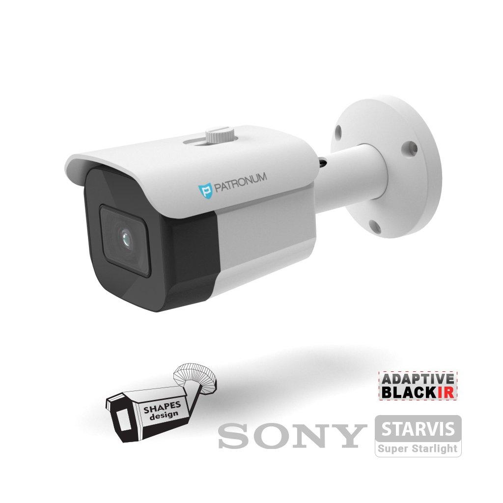 2.0Mpx AHD bezpečnostní kamera PATRONUM PR-B30AHDWT20FV1