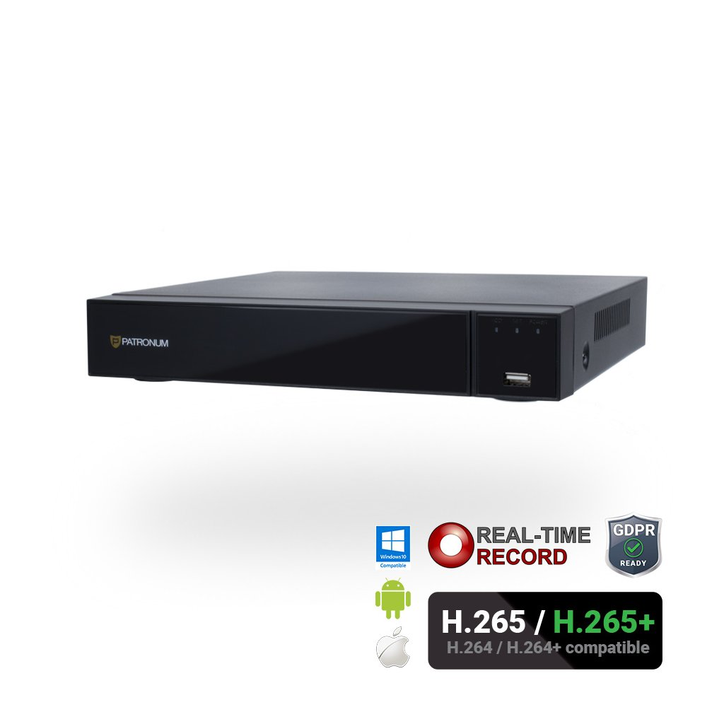 IP rekordér PATRONUM NK-NVR84K80POE - Real-Time
